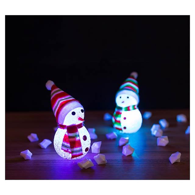 Fadon figurka sněhuláka - foto