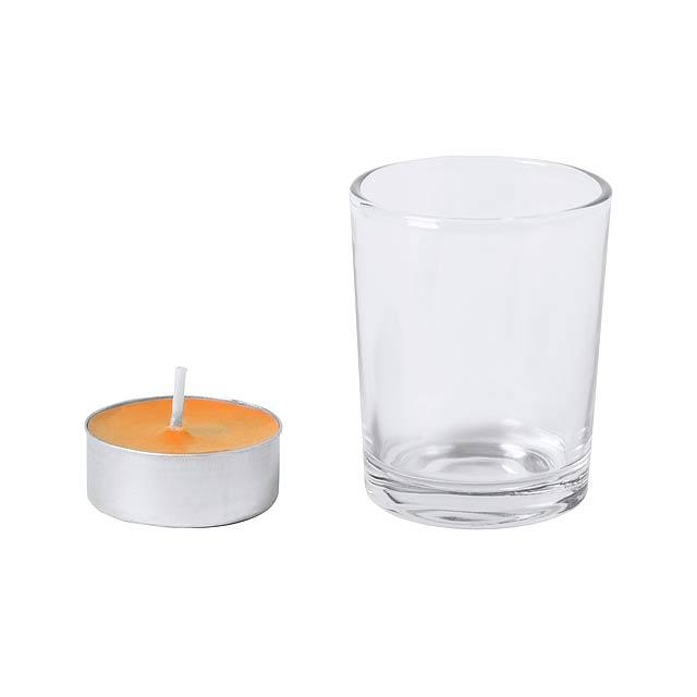 Persy svíčka, Pomeranč - foto