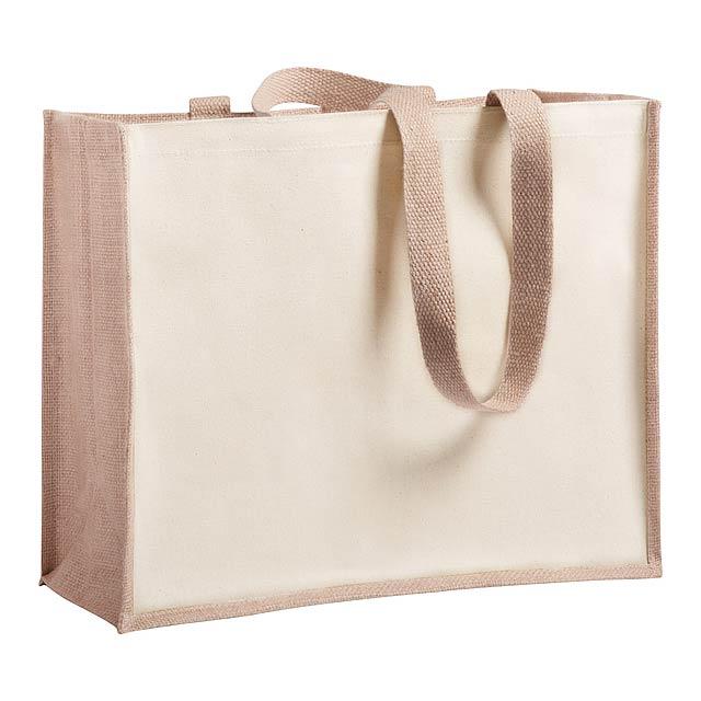 Rotin nákupní taška - foto