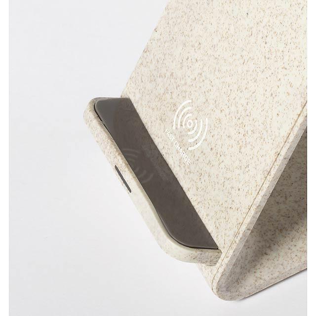 Birniax stojánek na mobil s bezdrátovou nabíječkou - foto