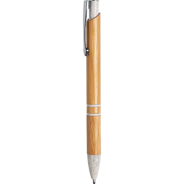 Lettek bambusové kuličkové pero - foto