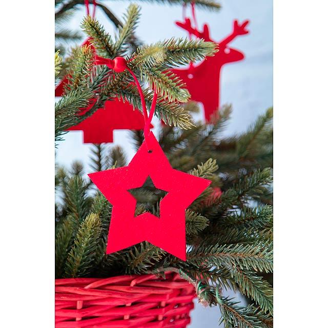 Stuck sada vánočních ozdob - foto