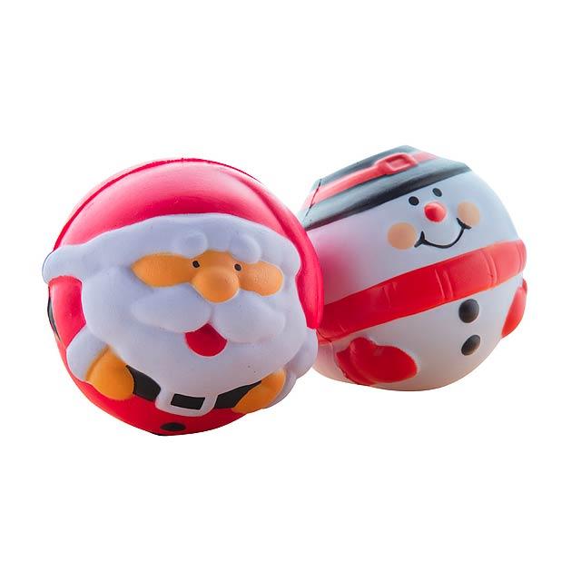 Snowman antistresový balonek - foto