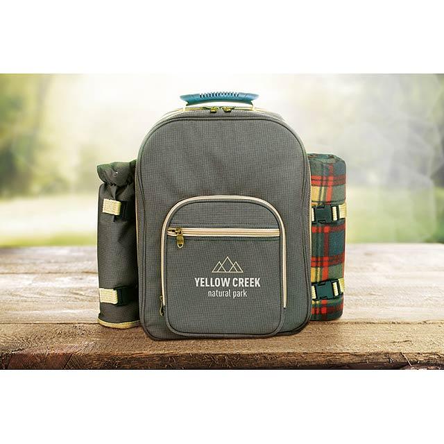 Central Park - luxusní piknikový ruksak - foto