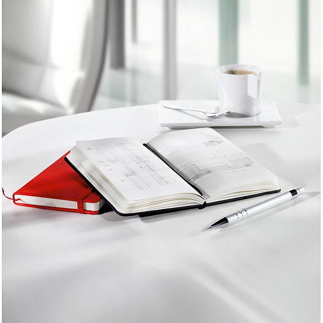 Zápisník s gumičkou - foto