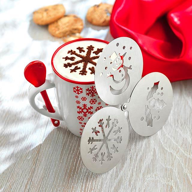 Šablony na kávu - COFFEEDECO - foto