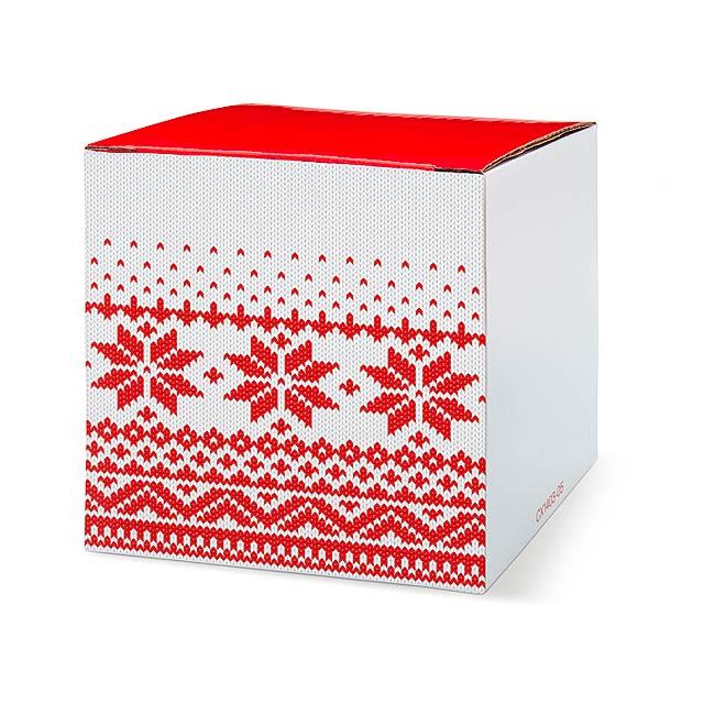 Hrnek s vánočním obtiskem - IDDUNA - foto