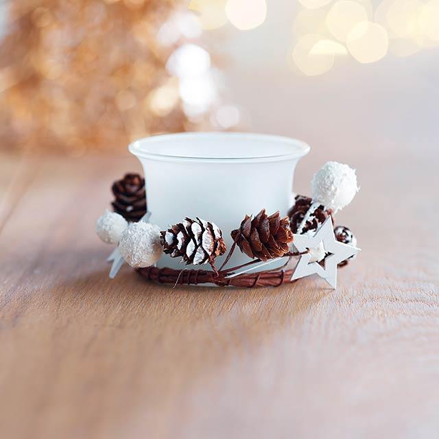 Stojánek na vánoční svíčku - BOUGIE - foto