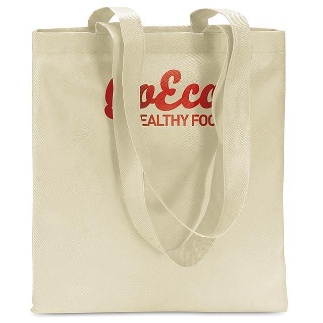 Netkaná nákupní taška - foto