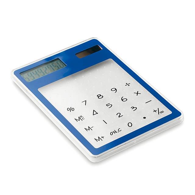 Kalkulačka transparentní - foto