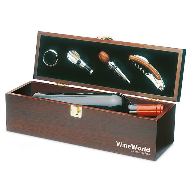 Dárková krabice na víno - foto