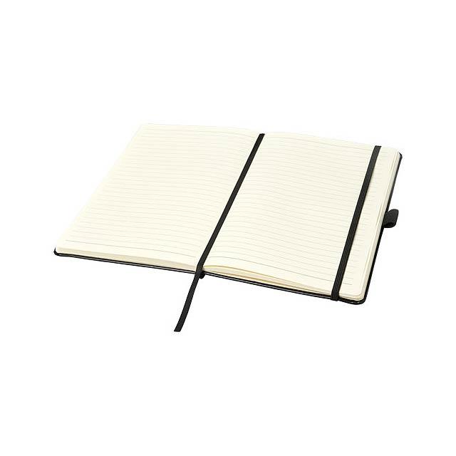 Poznámkový blok A5 Coda s pevnou obálkou s koženým vzhledem - foto