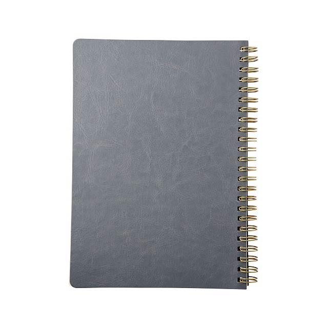 Deník A5 Spiraly s koženým vzhledem - foto