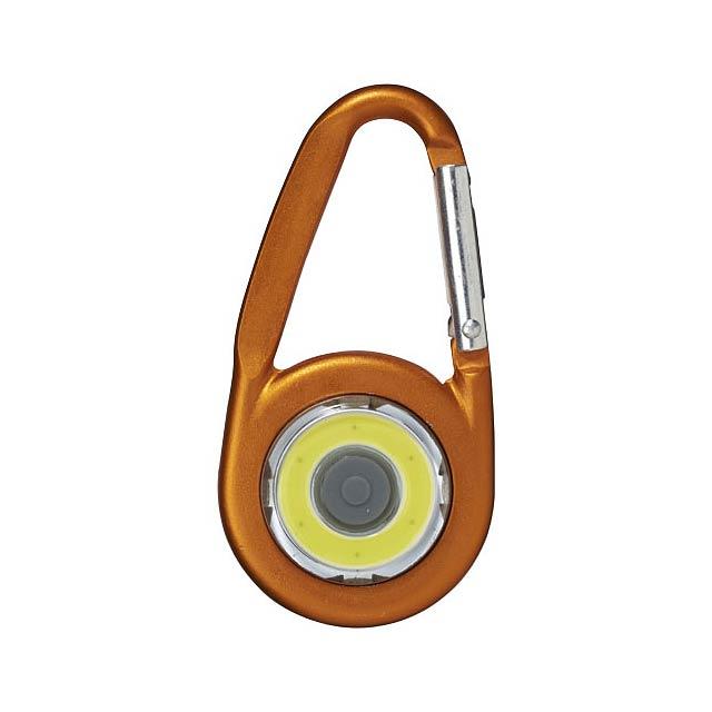 COB svítilna Eye s karabinou - foto