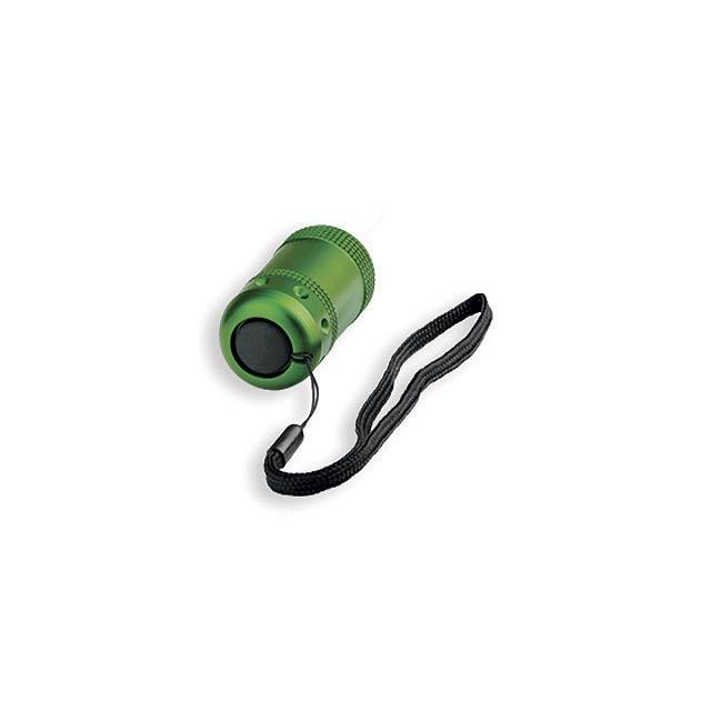 PERIDE - kovová 6 LED svítilna - foto