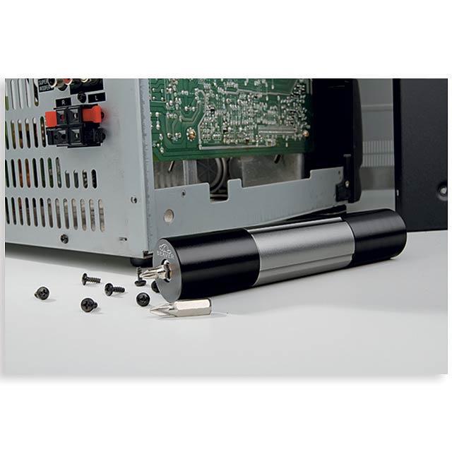 DEXTER - kovová 1 W svítilna s nářadím, 6 funkcí, BEAVER - foto