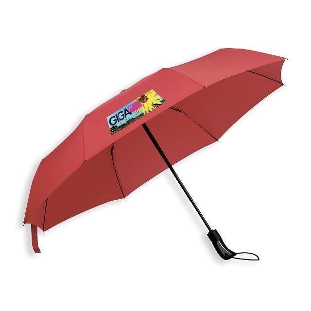 CAMPANELA - polyesterový skládací deštník, open/close, 8 panelů - foto