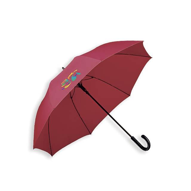 SILVAN - polyesterový vystřelovací deštník, 8 panelů, SANTINI - foto