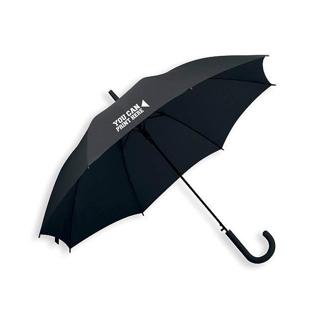 LAVEDA - polyesterový vystřelovací deštník, 8 panelů, SANTINI - foto