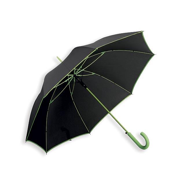 INVERZO - polyesterový vystřelovací deštník, 8 panelů - foto