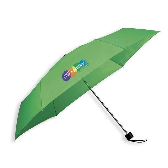 SEAGULL - polyesterový skládací manuální deštník, 6 panelů - foto
