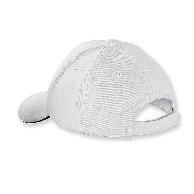 HEAVY - bavlněná baseballová čepice, suchý zip, 6 panelů - foto