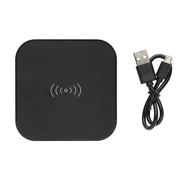 Bezdrátová nabíječka 5W s 2 USB - foto