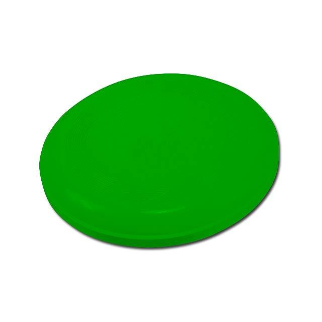 AERO - plastový létající talíř - zelená