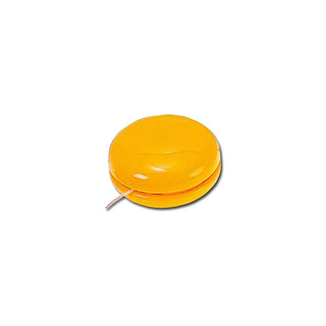 JO-JO - plastové jojo - žlutá