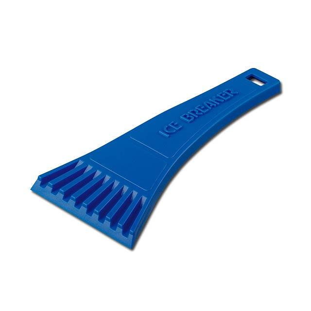 RIA - plastová škrabka - modrá