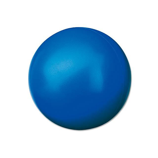 ORBIN - pěnový antistresový míček - modrá