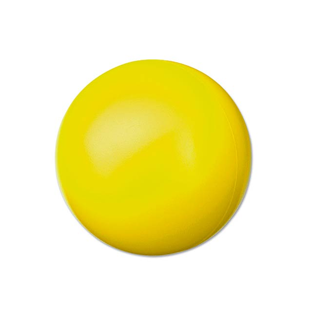 ORBIN - pěnový antistresový míček - žlutá