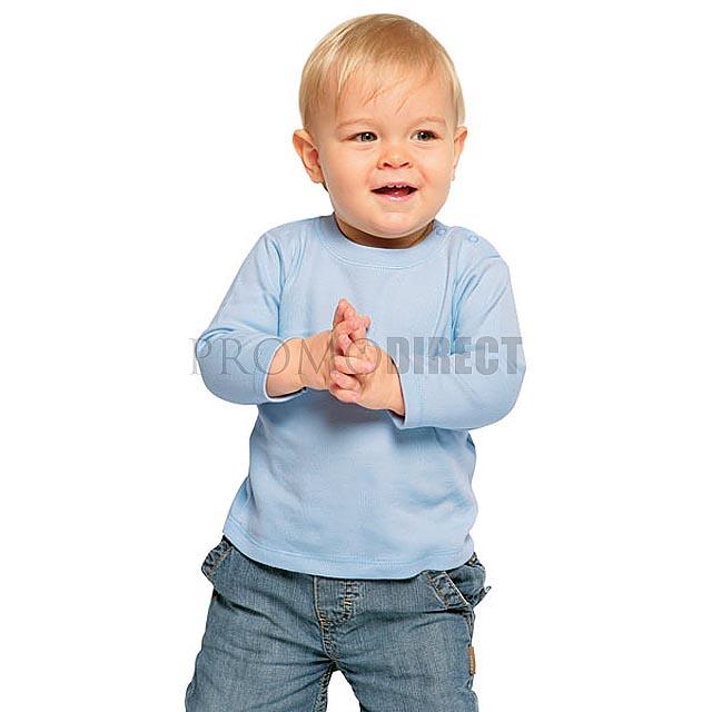 BabyBugz - Dětské tričko dlouhý rukáv - bílá