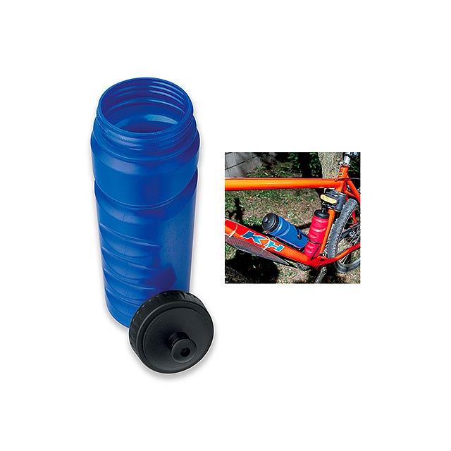 EVANS - plastová láhev na kolo, 750 ml - modrá