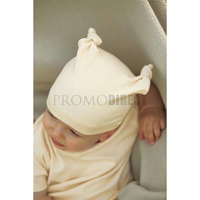 BabyBugz - Dětská čepička - bílá