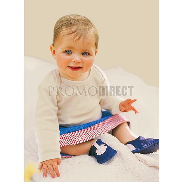 BabyBugz - Dětské tričko s dlouhým rukávem - bílá
