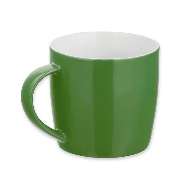 DURAN - keramický hrnek, 300 ml - zelená