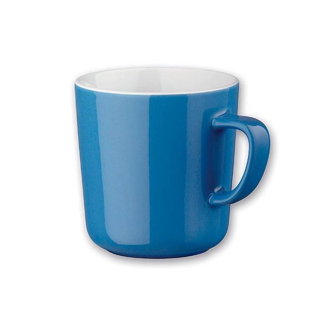 MOCCA - keramický hrnek, 230 ml - modrá
