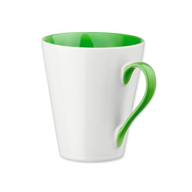COLBY - keramický hrnek o objemu, 300 ml - zelená