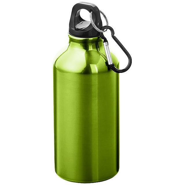 Láhev na pití s karabinou  - zelená