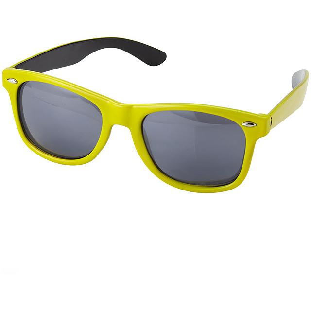 Sluneční brýle Crockett - žlutá