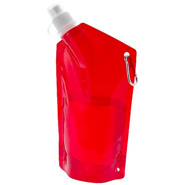 Skládací lahev Cabo - červená