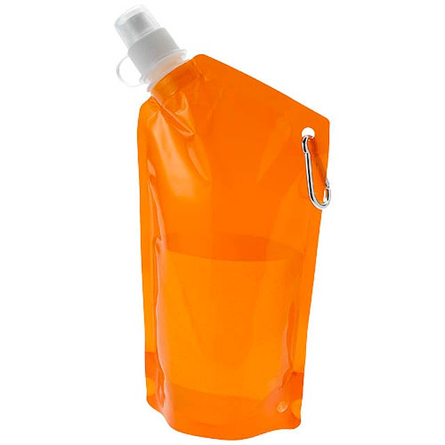 Skládací lahev Cabo - oranžová