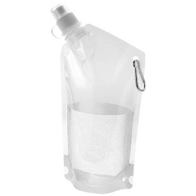 Skládací lahev Cabo - transparentní