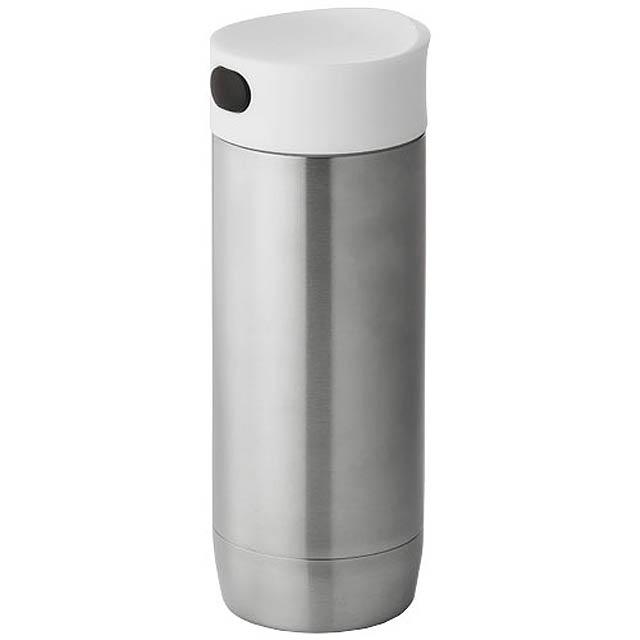 Kovová termoláhev - stříbrná