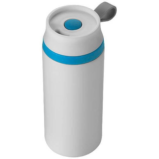 Vodotěsná termoska Flow - modrá