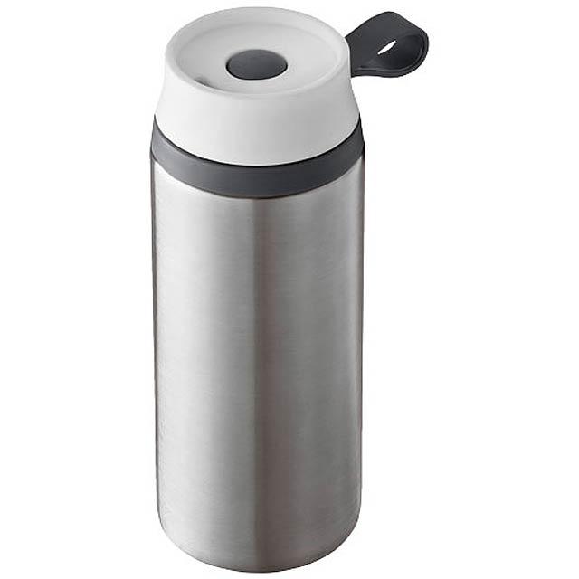 Vodotěsná termoska Flow - stříbrná