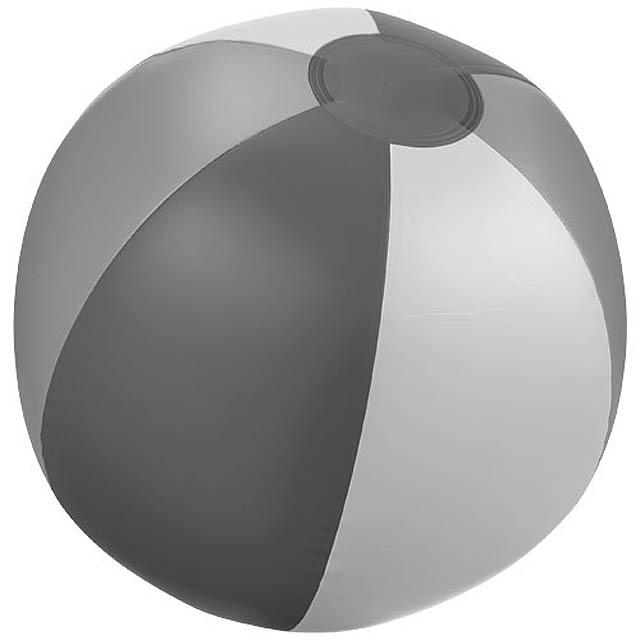 Pevný plážový míč Trias - šedá