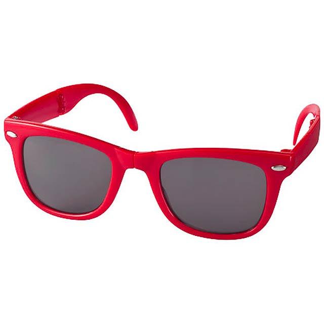 Skládací sluneční brýle SunRay - červená