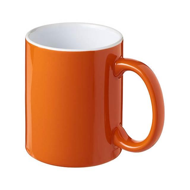 Keramický hrnek Java - oranžová